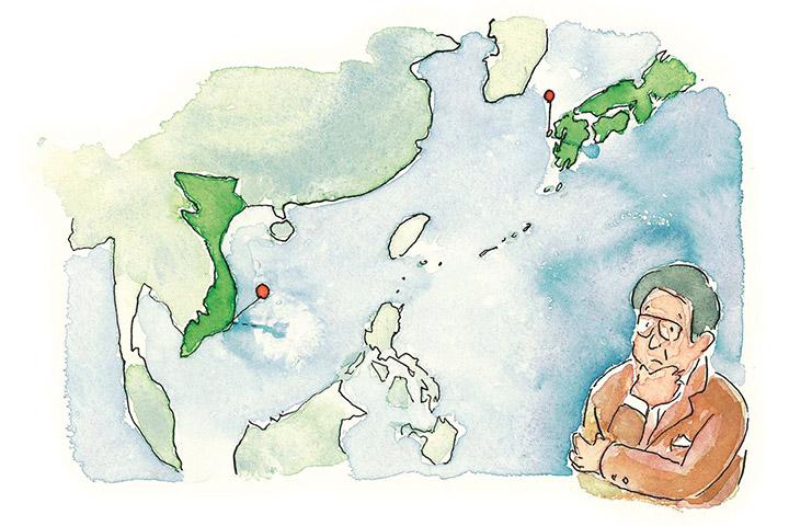 大島への生産集中 - ベトナムへの工場進出計画と撤退 地域、国を越えての付き合い