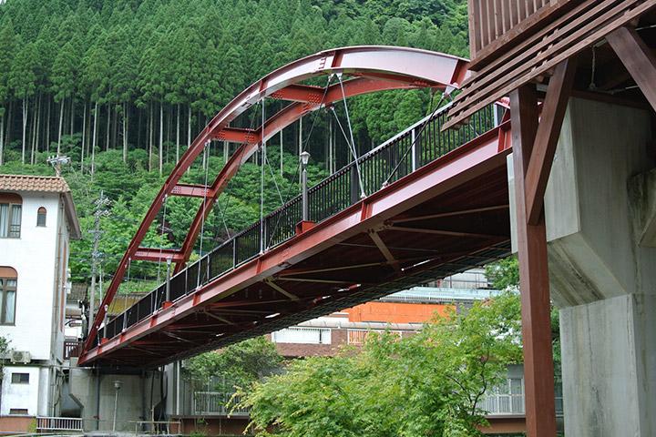 虹の吊り橋