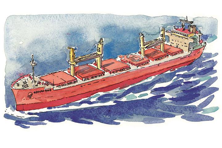「バルクに特化」で建造隻数急増 - 建造船700隻突破