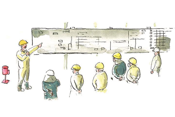 工作部生産性向上運動 - 「見える化」から「出来る化」へ