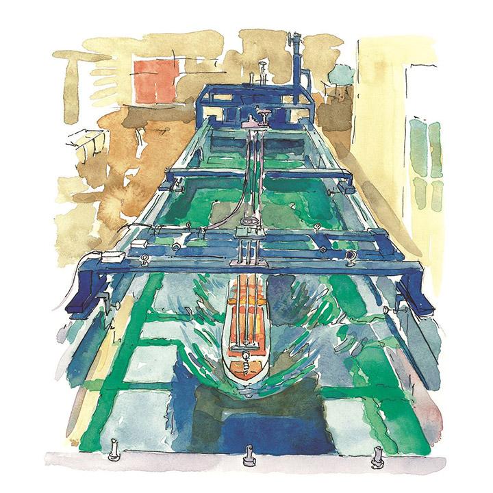 「技術の大島」を深化させる - 研究開発体制の整備と回流水槽の建設