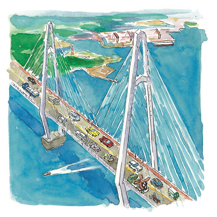 経済効果と地域交流の増大 - 大島大橋の通行が無料に