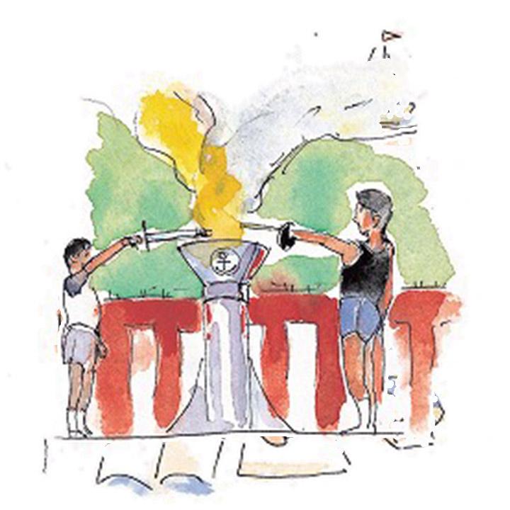 全社一丸の醸成 - 大運動会とバーベキュー大会