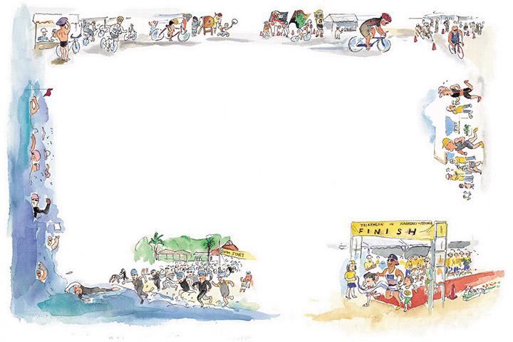 大島に若い人の祭りを - 長崎大島トライアスロン大会