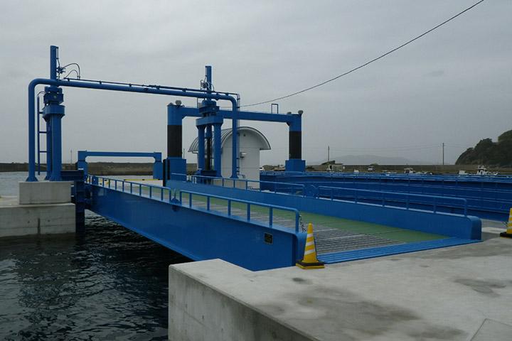 神ノ浦港可動橋