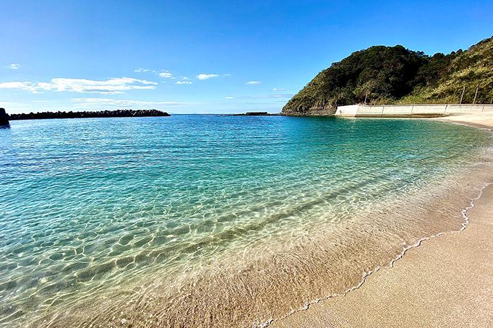 定番!ビーチで海水浴