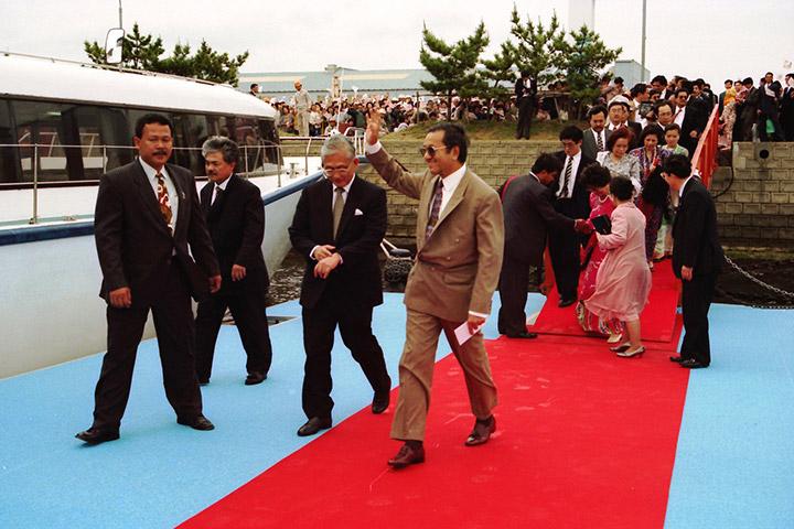 マハティール・マレーシア首相ご来所