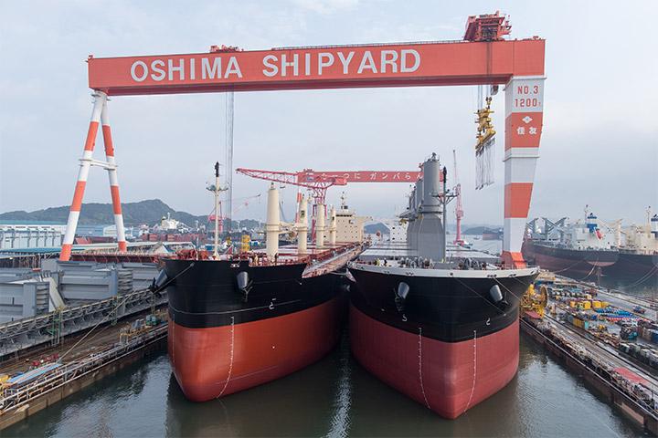 ばら積み貨物船への特化がもたらす、顧客価値の深化
