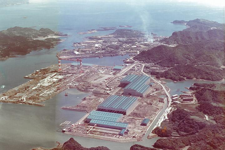 大島造船所加工開始