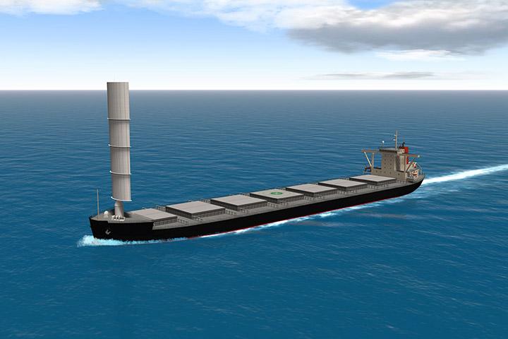 東京大学、船社他と風を利用した帆主機従商船Wind Challenger Projectを開始