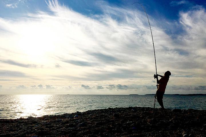 日本最高峰の釣り場