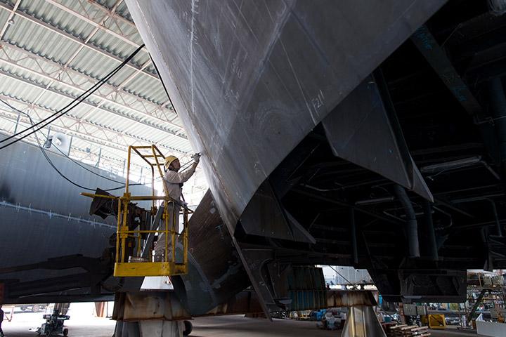 8.製造管理(船体)